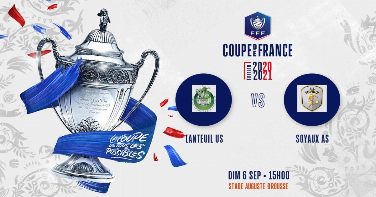 Le tirage du second tour de Coupe de France !